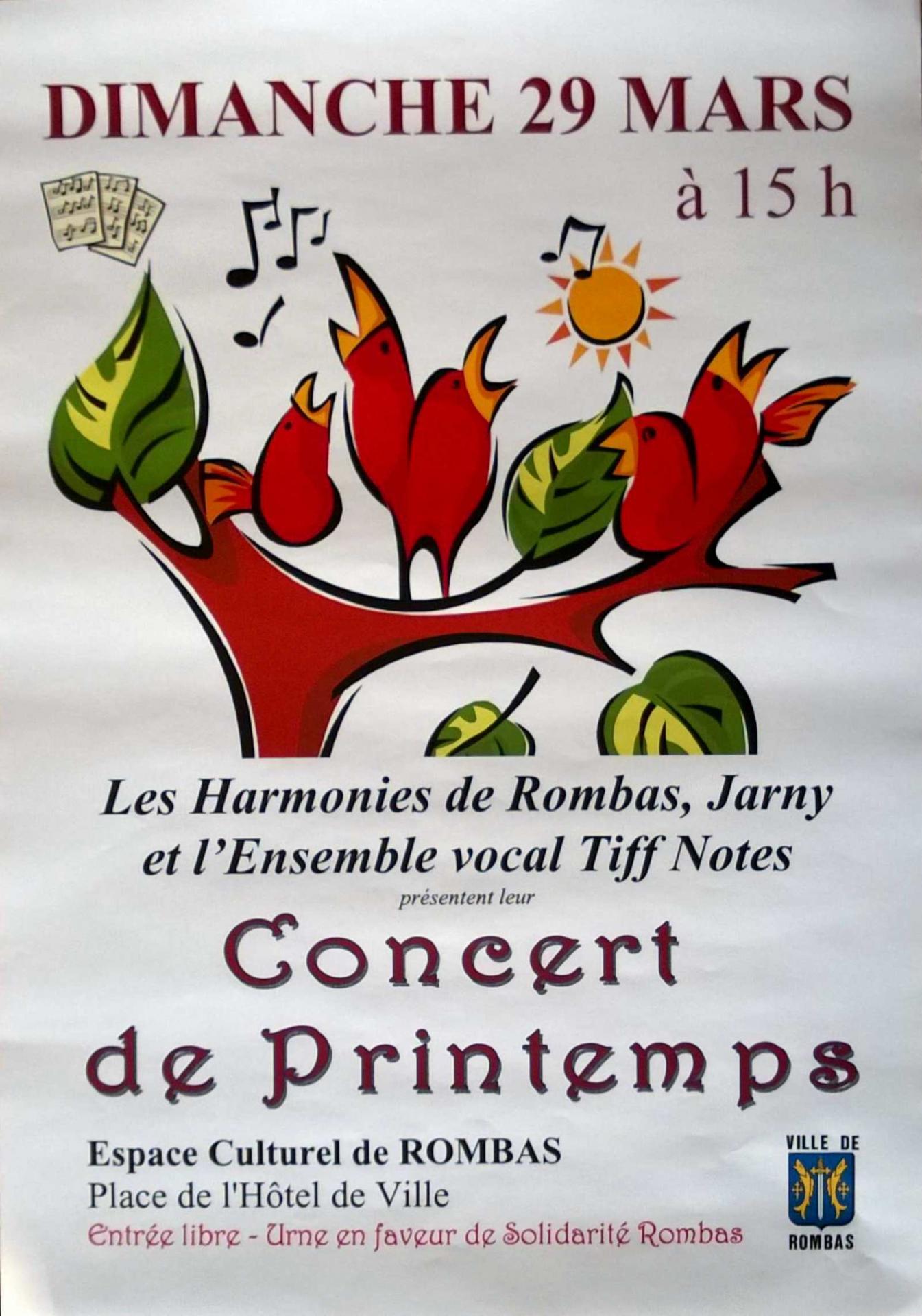 Affiche concert conv